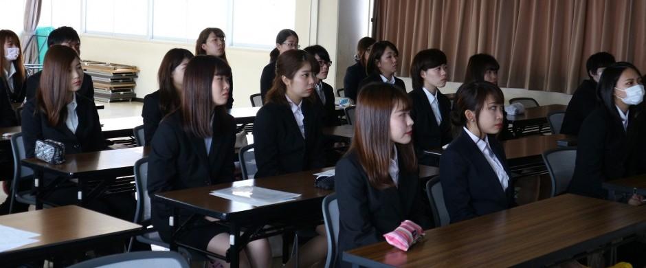 株式会社アヤハディオ様の企業説明会を行いました。